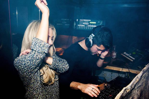 Madly in love Made in Chelsea couple Nicola Hughes & Alex Mytton made a visit to the Naas Court Hotel Nightclub where they first met 9 months ago.