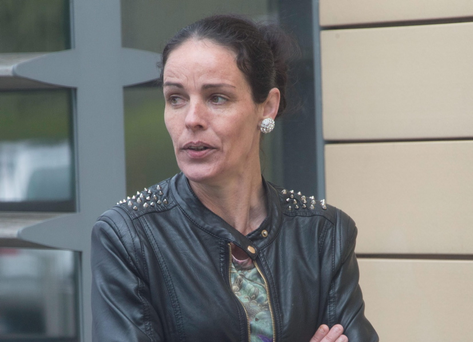 Elaine Ward (35) of Moorefield Drive, Clondalkin pleaded guilty to assaulting Garda Dominic Downing, being intoxicated and using threatening and abusive behaviour at Moorefield estate on June 5 last year.