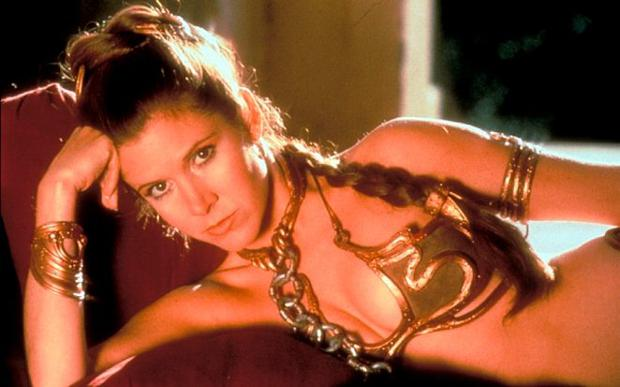 Star Wars: Episode VI, Return of the Jedi - Carrie Fisher as Princess Leia