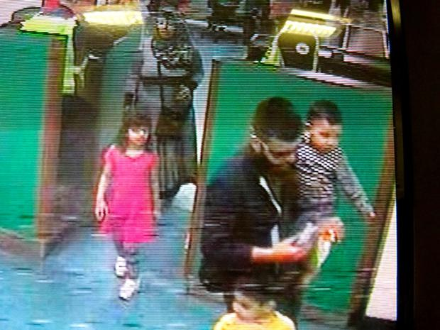 CCTV image of the Malik family in Dover Credit: Police/PA Wire
