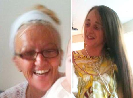 Bernadette Fox, 57, and her daughter, Sarah Fox, 27, who were found dead at two separate addresses in Bootle, Merseyside credit: Merseyside Police/PA Wire