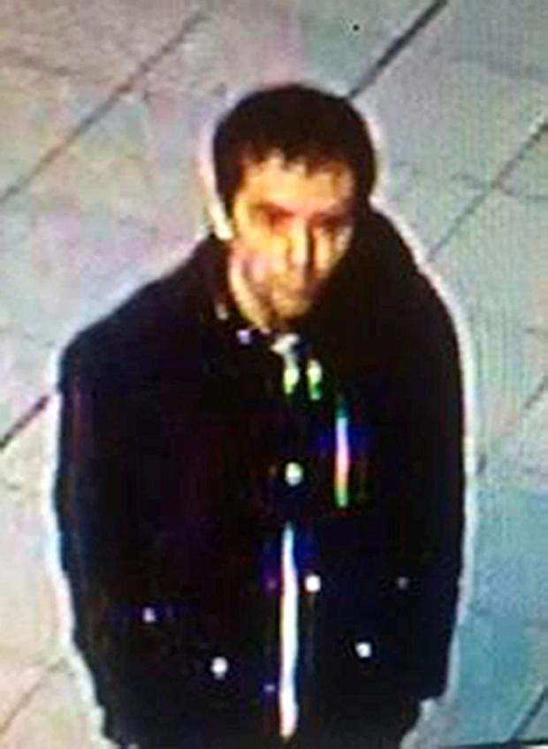 CCTV image of Peter Fox walking through Lime Street railway station in Liverpool Credit: Merseyside Police/PA Wire