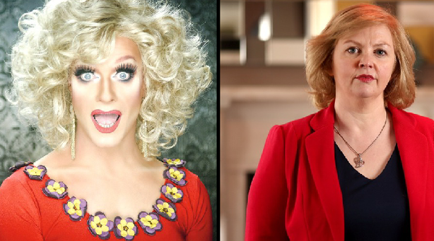 Panti Bliss and Breda O'Brien