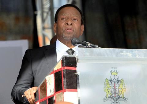 Zulu King Goodwill Zwelithini Credit: AFP/STRINGER