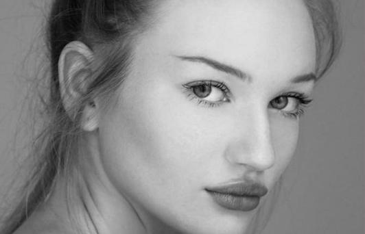 Clare has just been signed to IMG models in New York