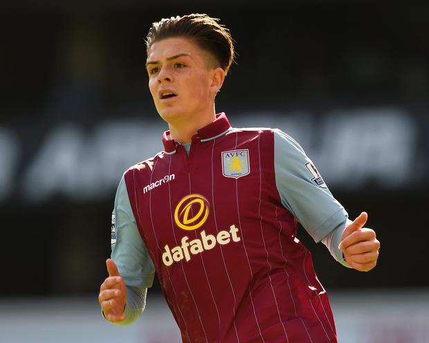 Jack Grealish was outstanding for Aston Villa against Liverpool on Sunday