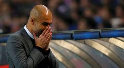 Bayern Munich's coach Pep Guardiola