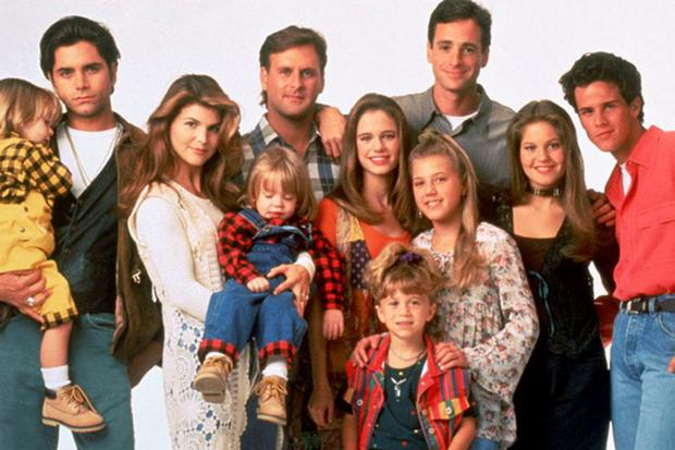 The original cast of Full House