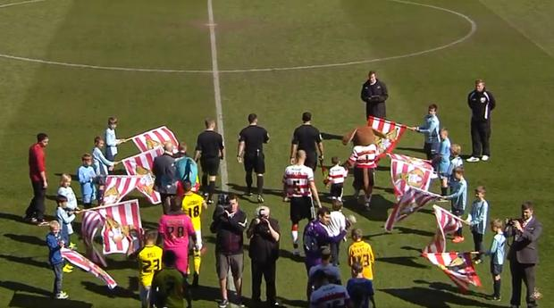 Doncaster and Fleetwood take to the pitch