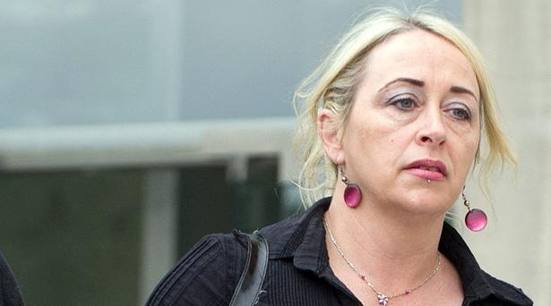 Gail O'Rorke leaving Dublin Circuit Criminal Court. Photo: Courts Collins.