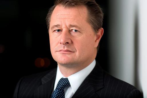 Bank boss John Hourican is picking up an award for Banker of the Year Photo: Bloomberg
