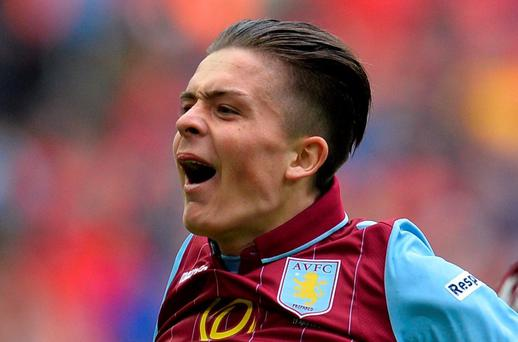 Aston Villa starlet Jack Grealish is wanted both by the FAI and the English FA