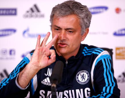 Jose Mourinho claimed to have adopted a more attacking style