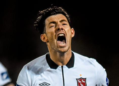 Dundalk's Richie Towell was a fan of Liam Miller in his youth and played alongside him during his spell with Hibernian