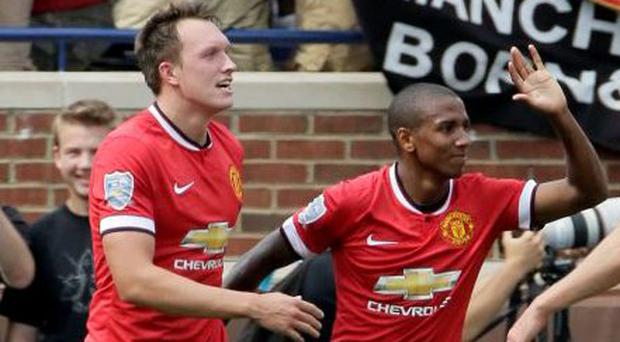 Manchester United will look to tie up Phil Jones and Ashley Young to new contracts before the end of the season