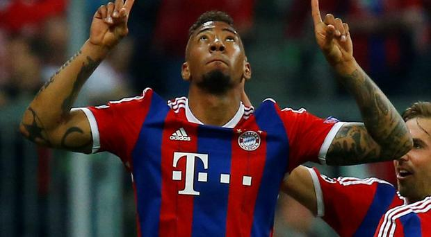 Bayern Munich's Jerome Boateng
