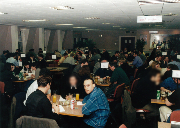 Mark Nash at a table quiz just hours before brutal double murder (Photo: Prime Time)
