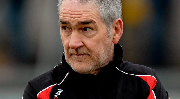 Mickey Harte had been recovering at home after a surgical procedure at the beginning of the month which forced him to miss Tyrone's last League game against Kerry that ended in a draw and ultimately condemned them to Division 2 for 2016
