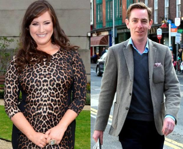 Elaine Crowley (left) was linked to Ryan Tubridy (right)