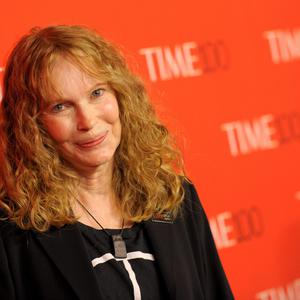 Mia Farrow attends the TIME 100 Gala. (Photo by Evan Agostini/Invision/AP)