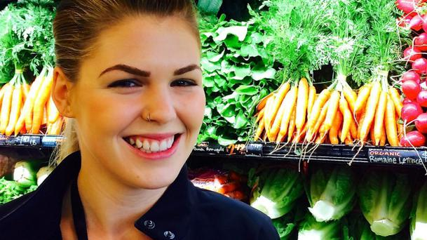 Food blogger Belle Gibson