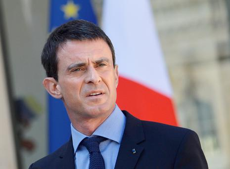 The highlight of Mr Valls' visit will be his opening of the new French embassy at Fitzwilliam Lane, just five minutes' walk from Leinster House
