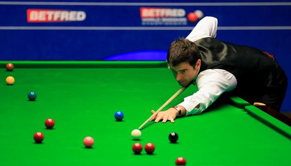 Ronnie O'Sullivan during day five of the Betfred World Championships at the Crucible Theatre, Sheffield