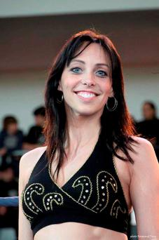 Murder victim Aurelie Chatelain, a 33-year-old fitness instructor, whose body was found in her car. Photo: AP