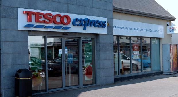 General view of Tesco Express, Dublin Road, Enfield, Co. Meath. Picture: Caroline Quinn