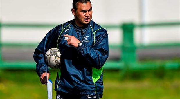 Connacht head coach Pat Lam during squad training on Tuesday. With Lam's side in control of their destiny and marching towards a potential European Champions Cup spot for next season, the time is now to renew your season ticket before it is too late.
