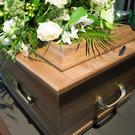 A coffin (stock photo)