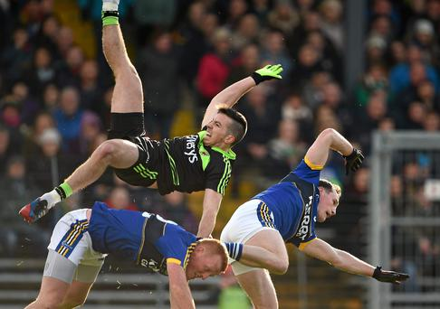 Regan first suffered the injury in a spectacular fall during the county's opening Allianz League game against Kerry, and he was hit on the double during county training earlier this week
