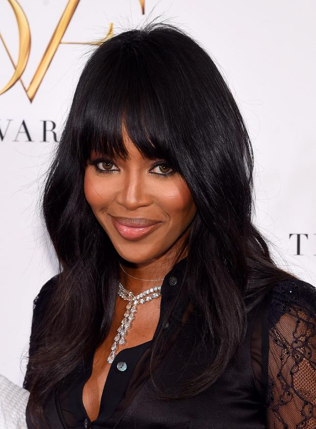 Naomi Campbell attends the 2015 DVF Awards at United Nations on April 23, 2015 in New York City. (Photo by Jamie McCarthy/Getty Images)