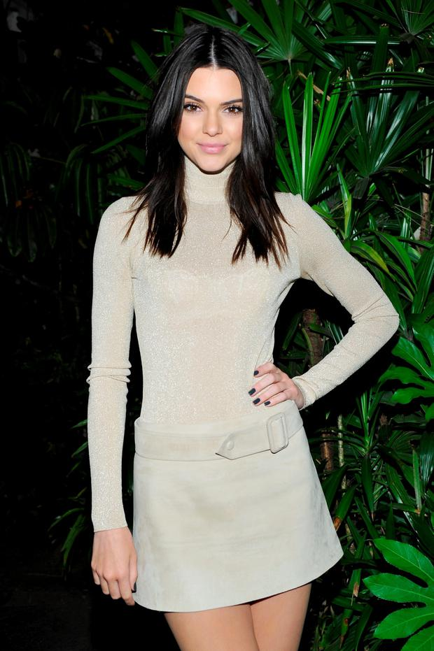 Kendall Jenner attends Opening Ceremony and Calvin Klein Jeans' celebration launch of the #mycalvins Denim Series