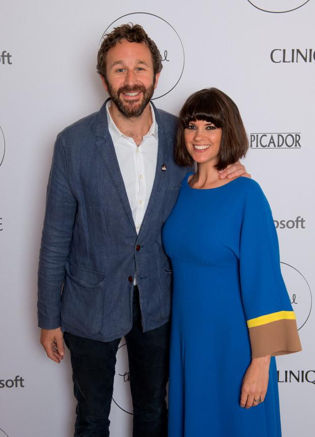Chris O'Dowd and Dawn O'Porter attend the launch party for The Pool