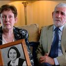 Bernadette and Michael Jacob appeal for information on their daughter Deirdre who went missing in 1998
