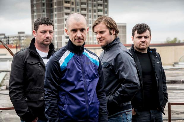 The Nissan tie-in offered Love/Hate viewers the chance to win a Nissan Jock Credit: RTE