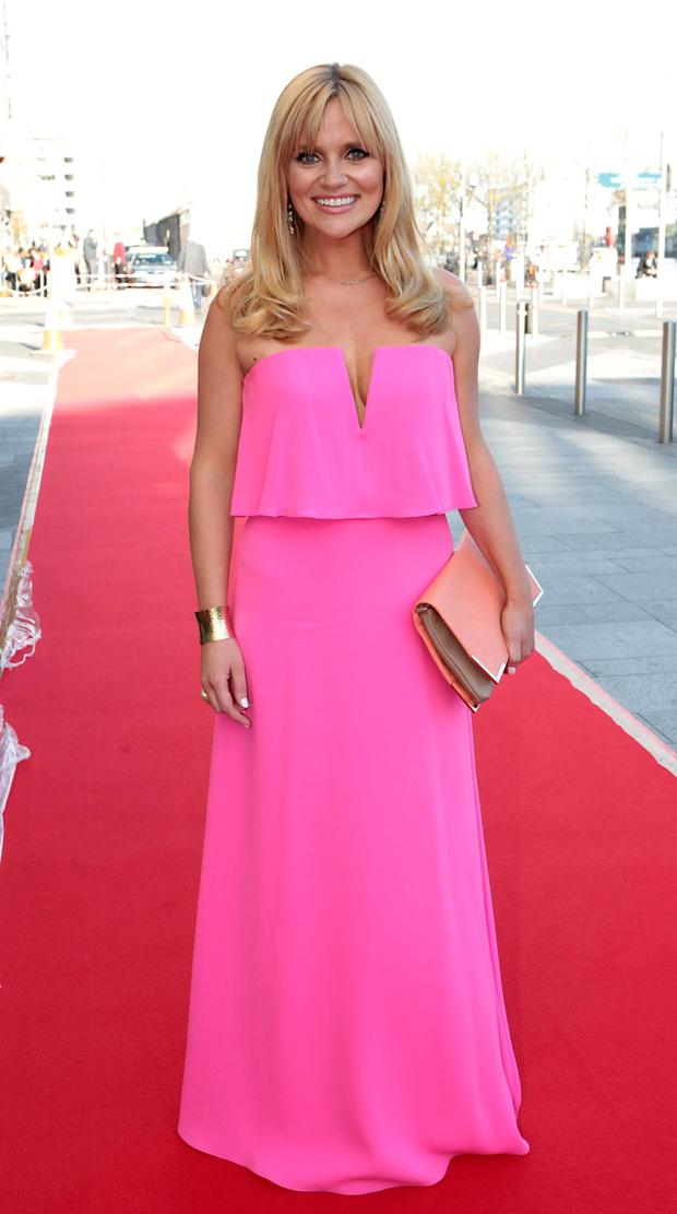Karen Koster on the Red Carpet at The Peter Mark VIP Style Awards 2015 at The Marker Hotel,Dublin. Pictures Brian McEvoy
