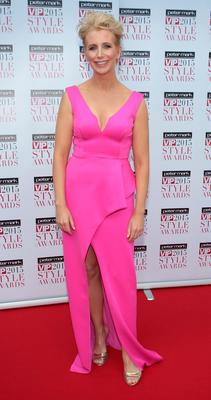 Aisling O Loughlin on the Red Carpet at The Peter Mark VIP Style Awards 2015 at The Marker Hotel,Dublin. Pictures Brian McEvoy