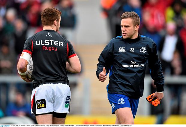 Ian Madigan has pipped Paddy Jackson to the number 10 jersey