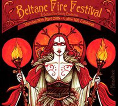 The Fire Festival takes place on April 30