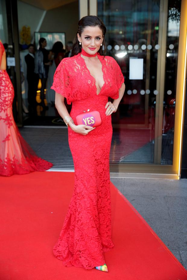 Virginia Macari pictured at the VIP Style Awards at the Marker Hotel in Dublin. Picture:Arthur Carron