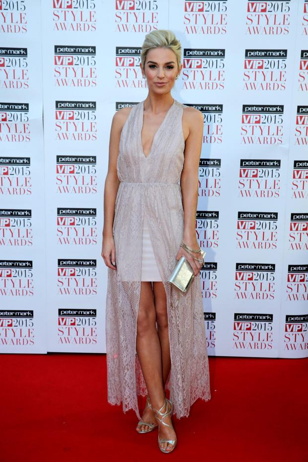 Pippa O'Connor pictured at the VIP Style Awards at the Marker Hotel in Dublin. Picture:Arthur Carron