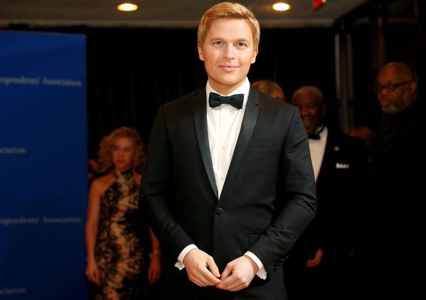 Journalist Ronan Farrow. REUTERS/Jonathan Ernst