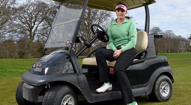 Mehaffey, 17, completed a sensational hat-trick of victories at the Irish Girls Championship last week, but winning the Scottish Open Stroke Play title propels her into a new dimension