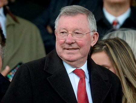 Alex Ferguson would be happy for another manger to overtake his trophy record at Manchester United