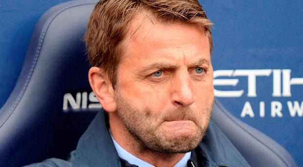 Aston Villa manager Tim Sherwood saw plenty reason for encouragement in his side's 3-2 defeat against Manchester City on Saturday