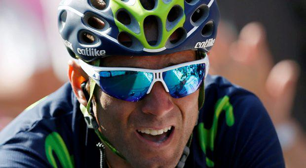 Movistar team rider Alejandro Valverde