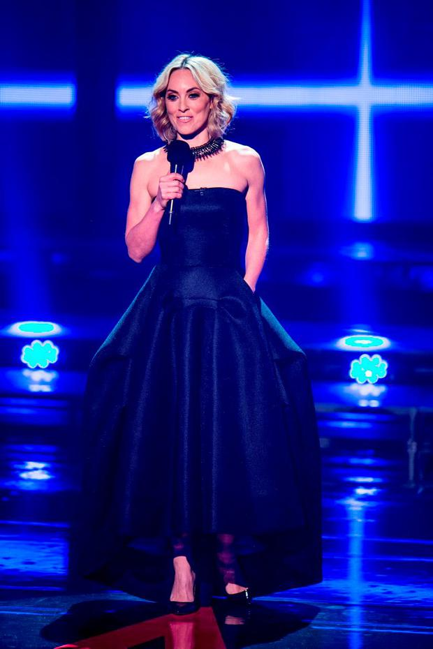 Kathryn Thomas during the Final live show of The Voice of Ireland in The Helix