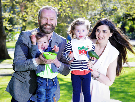 Dáithí and Rita Ó'Sé launch Toddlebox, Ireland's first feeding and nutrition website for toddlers